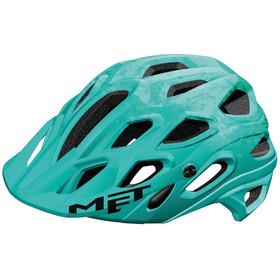 MET Lupo Casco, matt emerald green texture